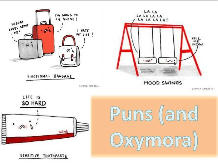 An introduction to puns and oxymora