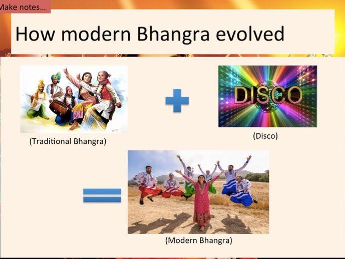Bhangra GCSE Music OCR