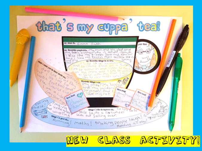 All About Me - That's my cuppa' tea!