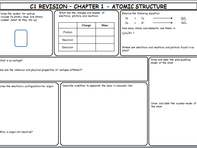 c1 revision Gcse science revision topics for ocr gateway science, b1, b2, b3, b4, c1, c2, c3, c4, p1, p2, p3 and p4.