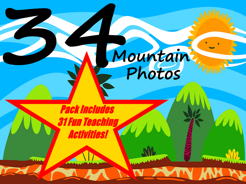 34 Fabulous Photos Of Mountains From Around The World + 31 Fun Teaching Activities For These Cards