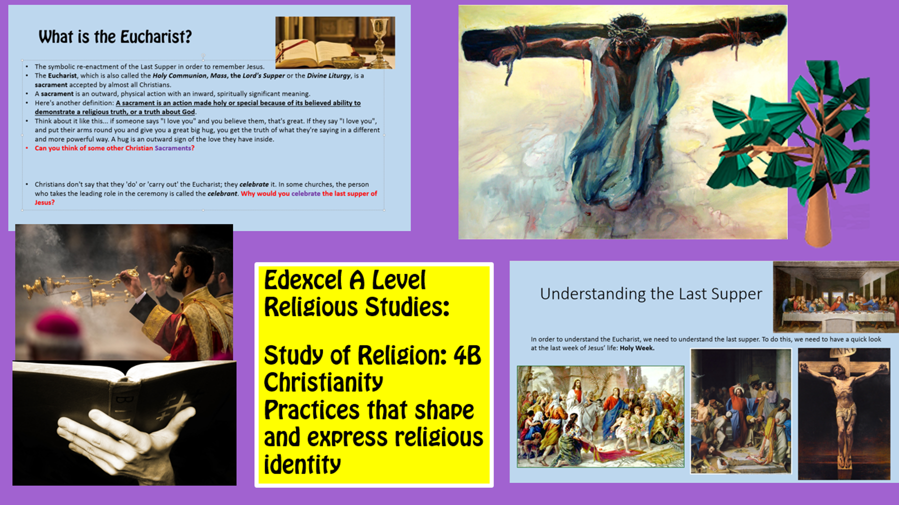 NEW Edexcel A Level - Christianity