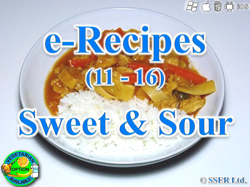 25.   Sweet & Sour (e-Recipe)