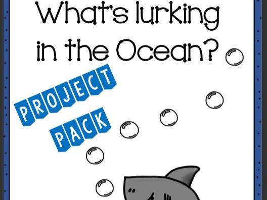 Oceans Topic Workbook