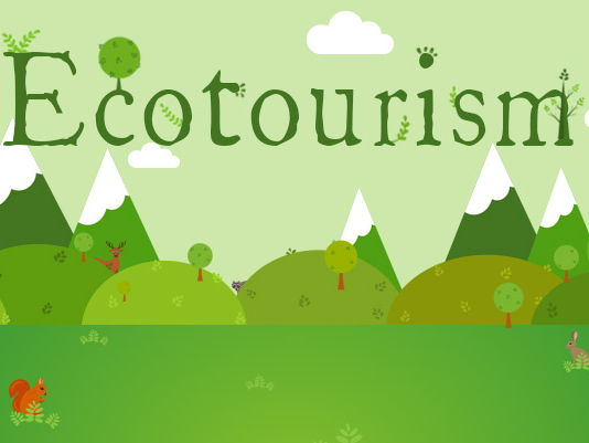 Outstanding  lesson - What is ecotourism? (TES Pick)