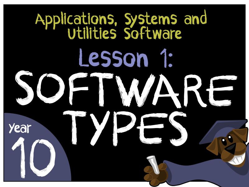 Software Types and Uses - Applications, Systems and Utilities Software Lesson 1