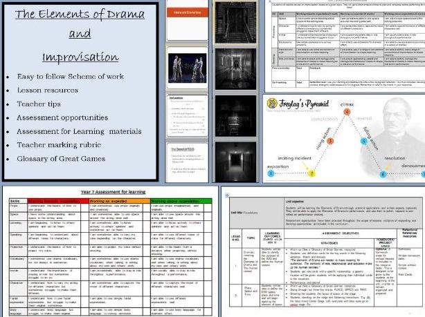 The Elements of Drama and Improvisation