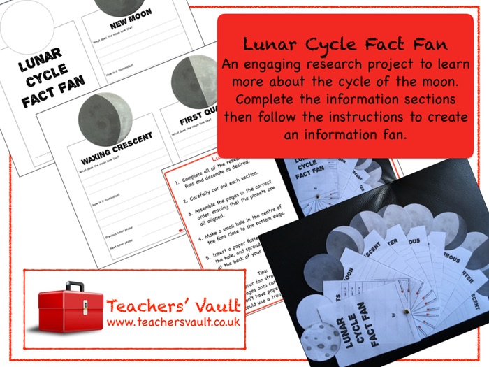 Lunar Cycle Fact Fan