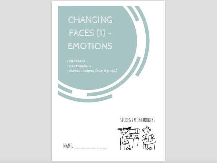 SPECIAL EDUCATION - CHANGING FACES (1) - EMOTIONS workbooklet