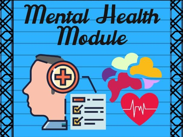 Mental Health and Psychological First Aid Module
