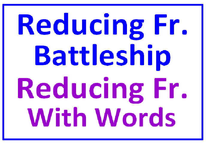 Reducing Fractions Battleship PLUS Reducing Fractions With Words