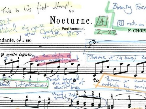 Chopin Nocturne Op. 72 No.1 - Annotated