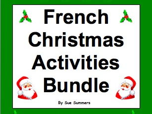 French Christmas Word Search Worksheet and Vocabulary by ...