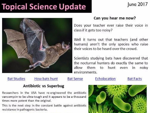 Topical Science Update - June