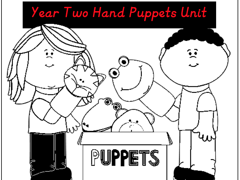 Design & Technology Hand Puppets Year 2 Planning Unit and Resources