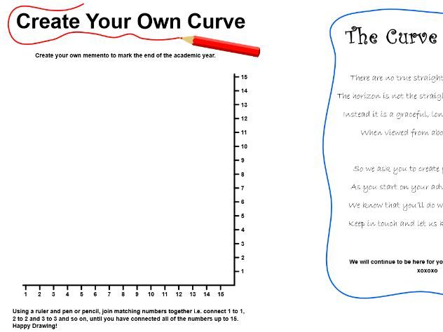 Create your own curve