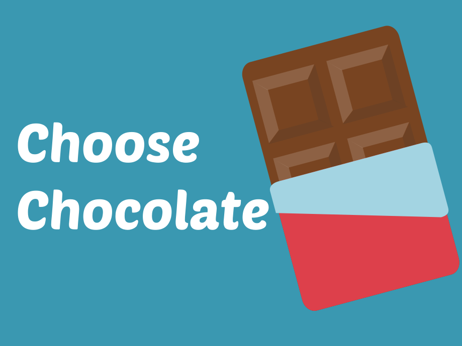 Choose Chocolate - negotiation & consent
