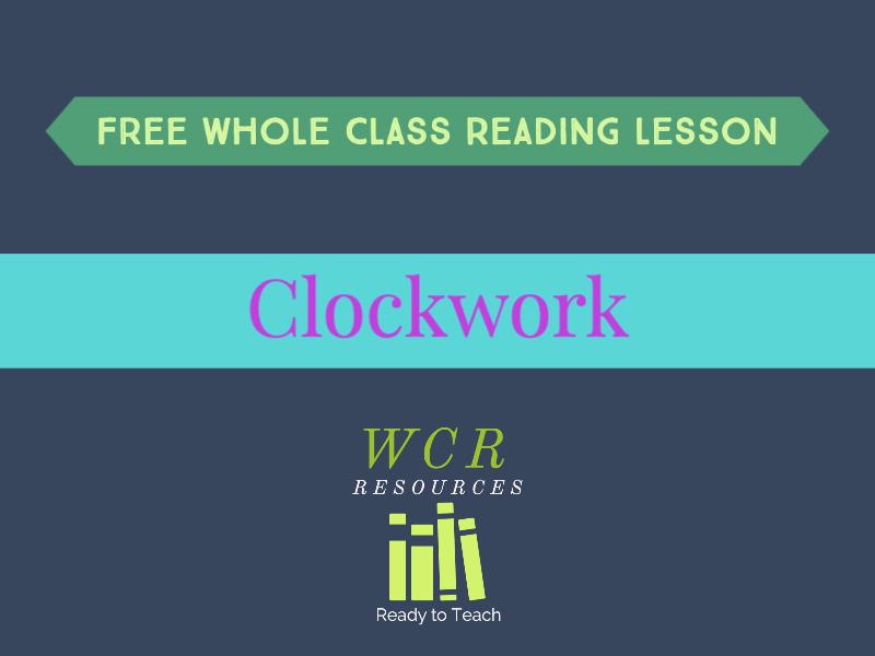 Free WCR lesson - Clockwork