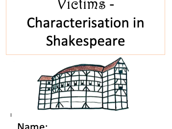 Shakespeare Heroes, Villains and Victims Booklet/SOW