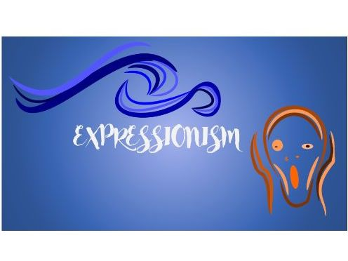 Slideshow presenting the background of the style of Expressionism