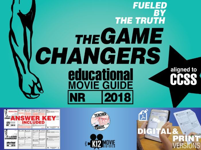 The Game Changers Documentary Movie Guide | Questions | Worksheet (2018)