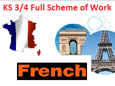 Year 7/8/9/10/11 French Full Scheme of Work
