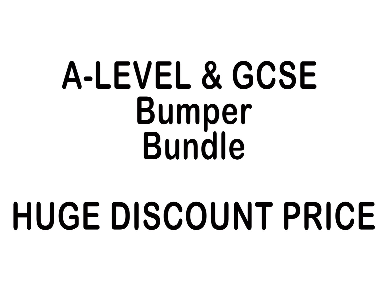 A-level and GCSE Art Bundle