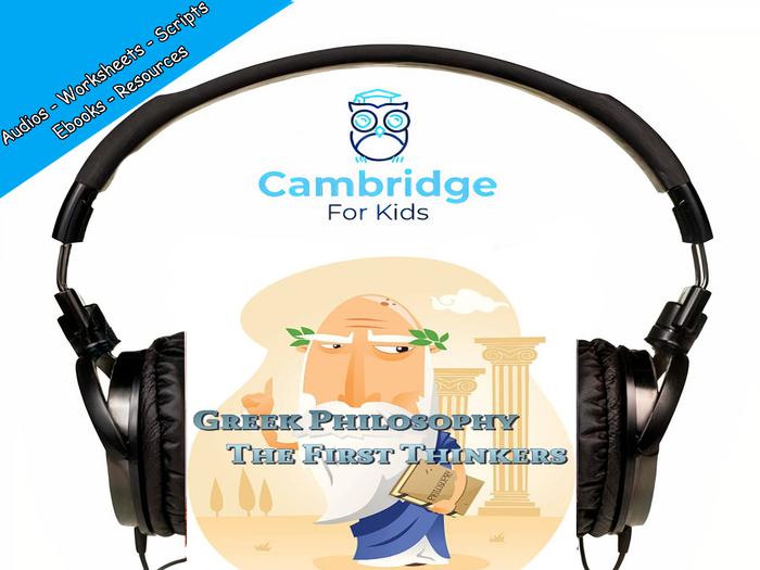 Ancient Greek Philosophy Audiobook & Comprehension Activities / Worksheets / eBooks