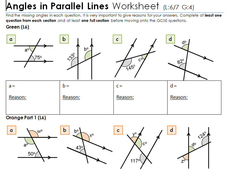 KS2/KS3/KS4 Maths: Angles