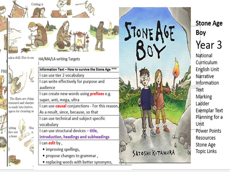 Stone Age Boy Year 3