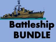 Batalha naval Battleship in Portuguese Bundle