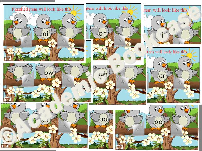 Birds word maker bundle - Phase 3