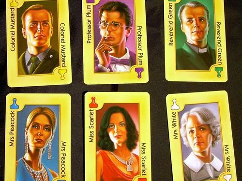 Cluedo murder mystery riddle - adaptation from Einstein's '5 houses' logic puzzle