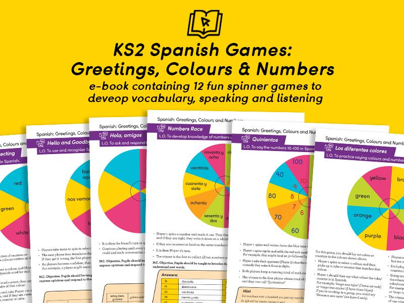 KS2 Spanish Greetings, Numbers & Colours