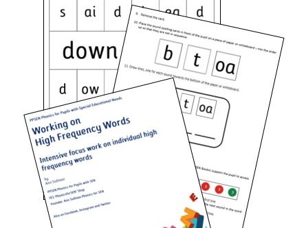 PPSEN: Word Detective - Mapping High Frequency Words for Reading and Spelling Automaticity