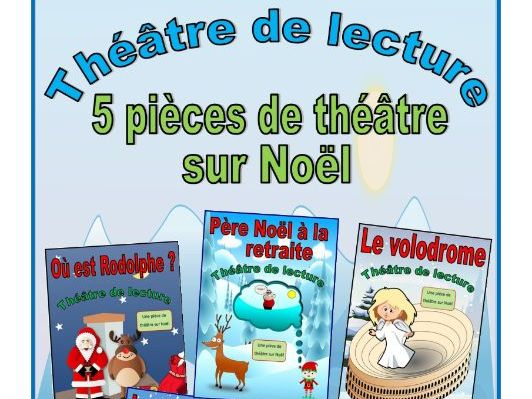 Five French Christmas Plays (Reader's Theatre)