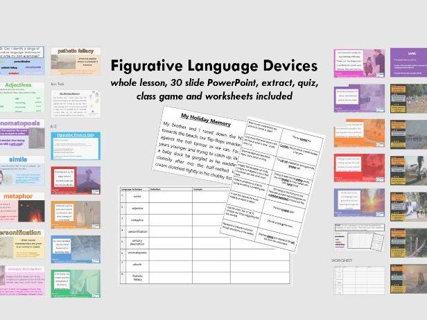 Figurative Language Devices (Literary Techniques)