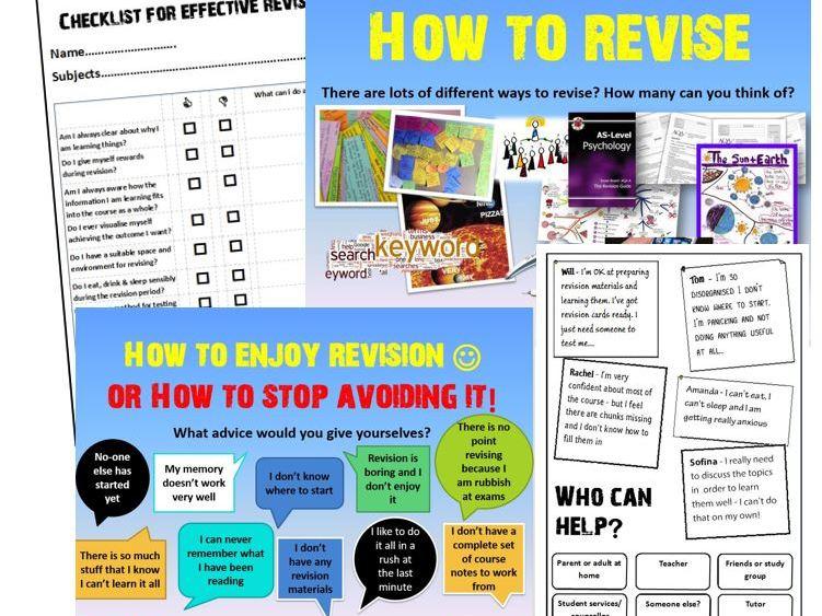 Revision Study Skills 14-16 16+