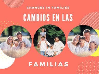 "CAMBIOS EN LAS FAMILIAS ""SPEAKING LESSON"""