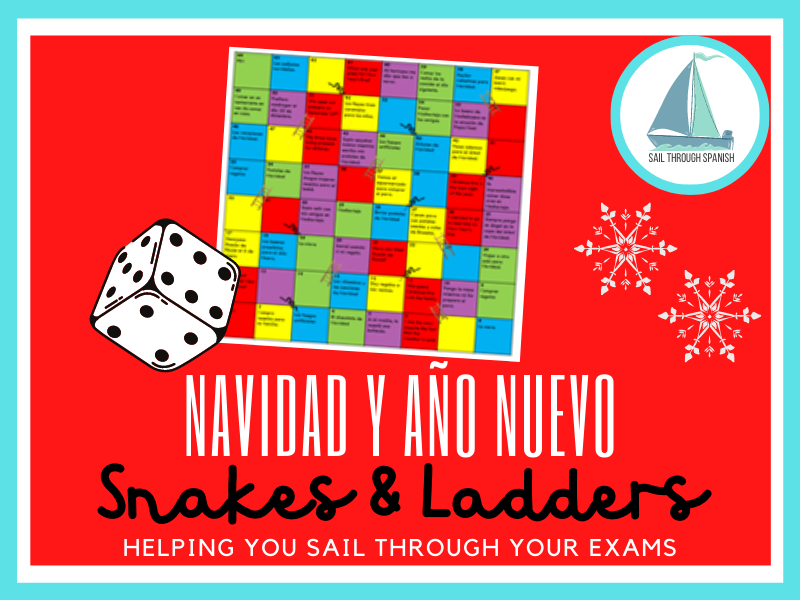 Navidad: Snakes & Ladders Game