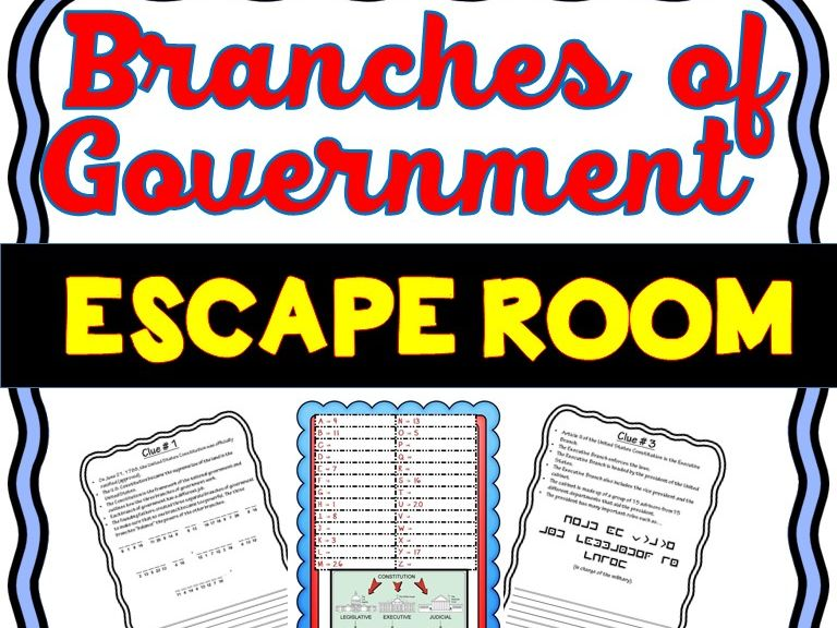 Branches of Government: U.S. Government and Civics