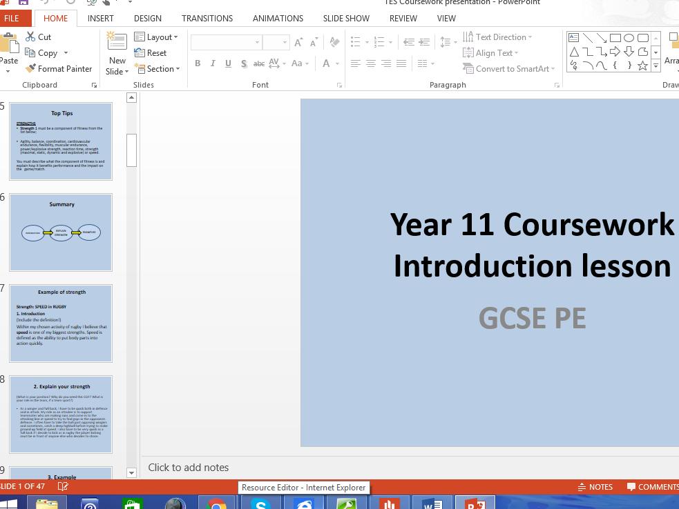 AQA GCSE PE (1-9) Cousework Bundle