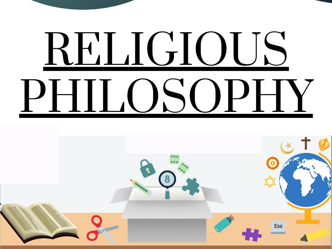 Religious Philosophy Revision