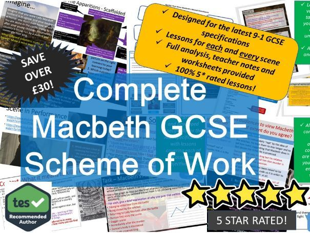 Macbeth Scheme of Work GCSE