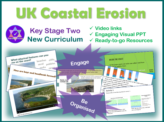 UK Coastal Erosion Lesson KS2 Geography