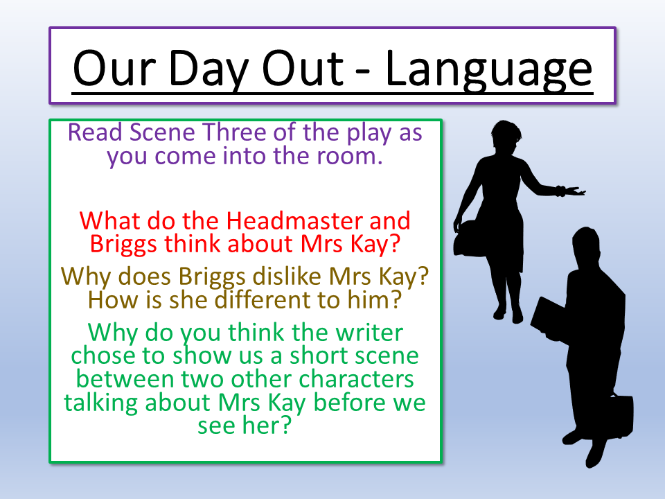 Our Day Out Language