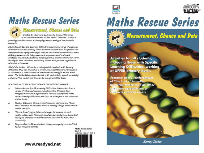 Maths Rescue 2: Measurement, Chance and Data (Irish E-Book for Special Needs and Students at Risk)