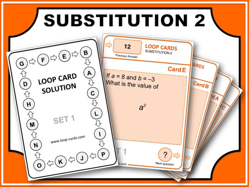 Loop Card Races (Substitution 2)