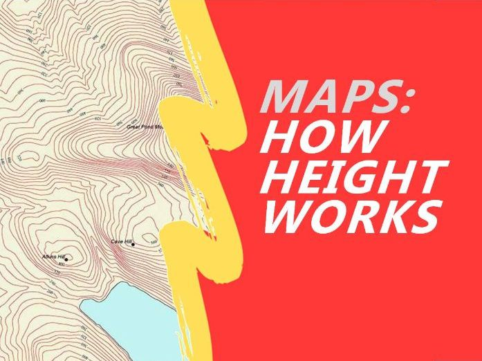 Contours - Showing Height on Maps