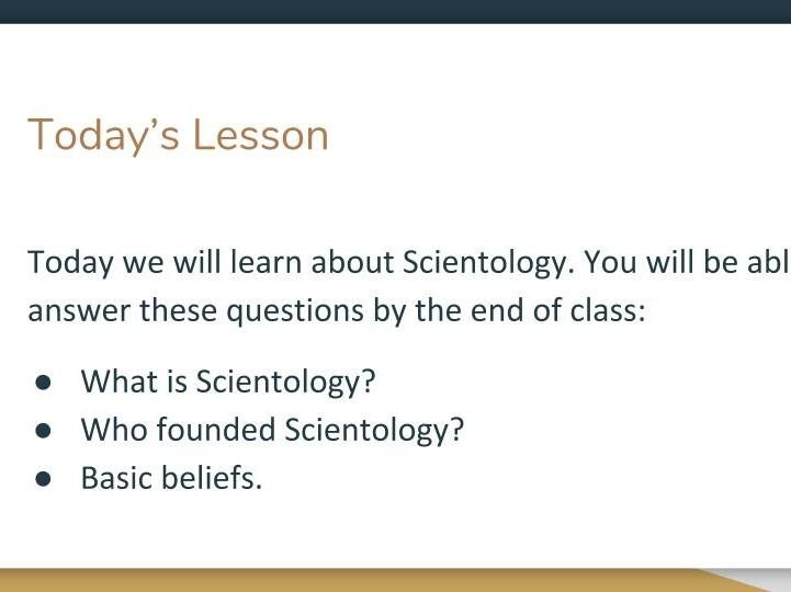 Introduction to Scientology